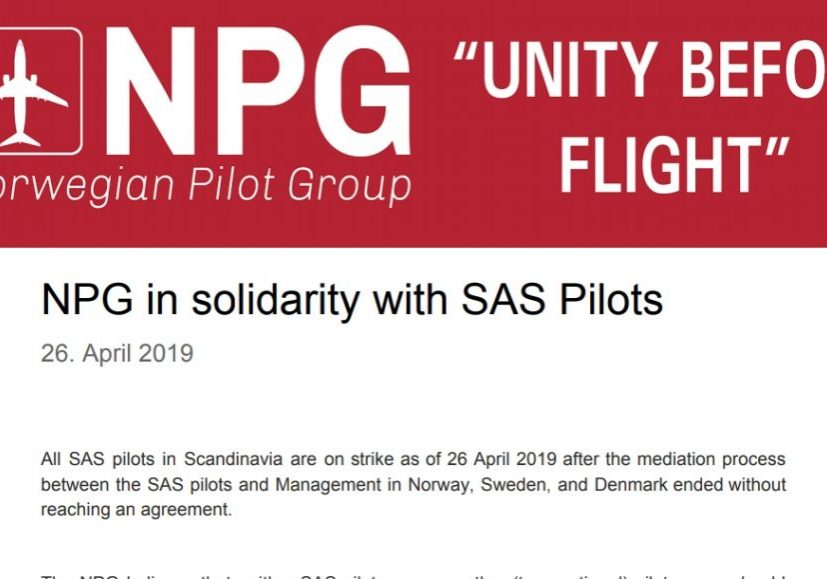 NPG SAS Support Letter
